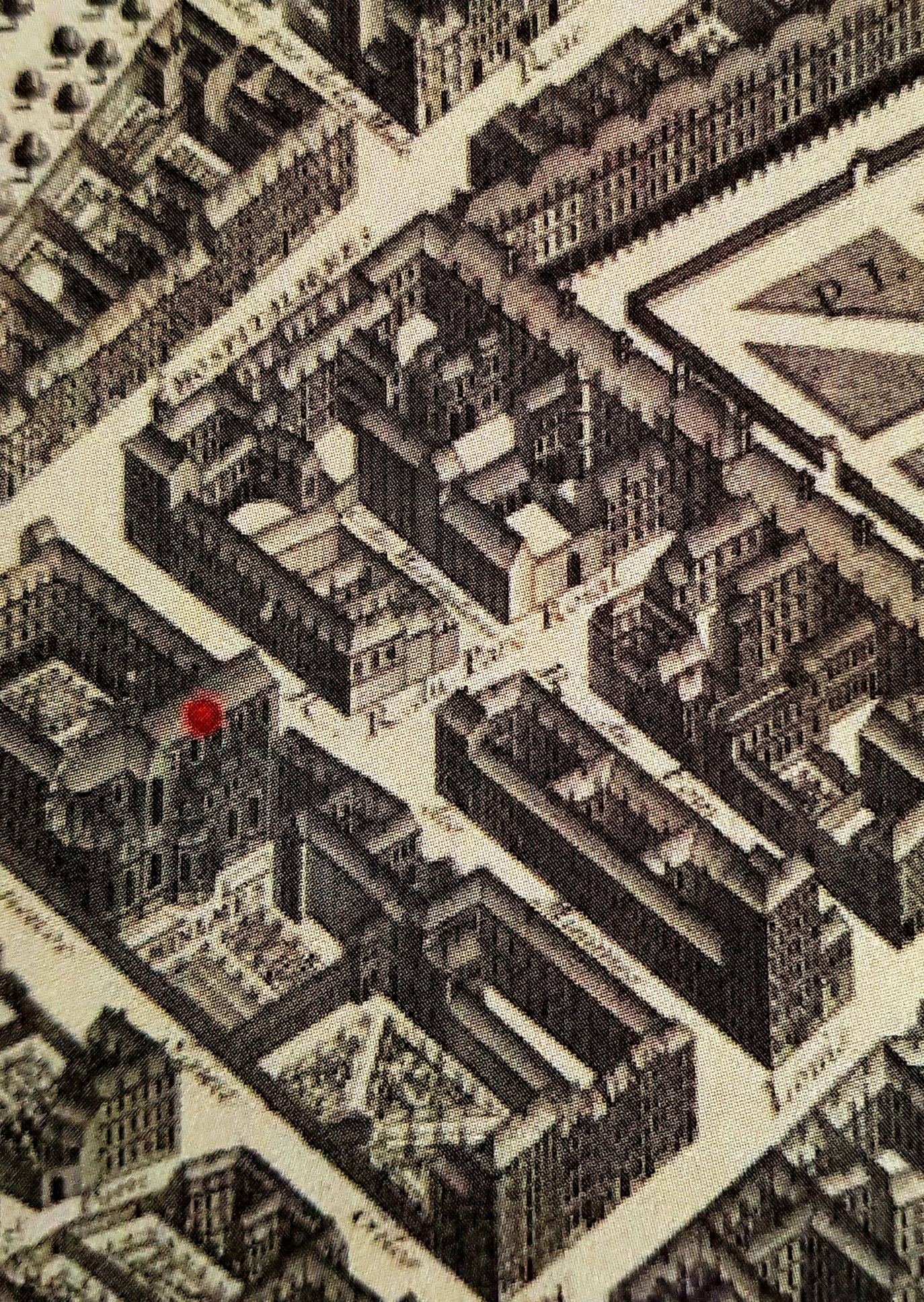 Couvent des Minimes à deux pas de la Place Royale, actuelle Place des Vosges