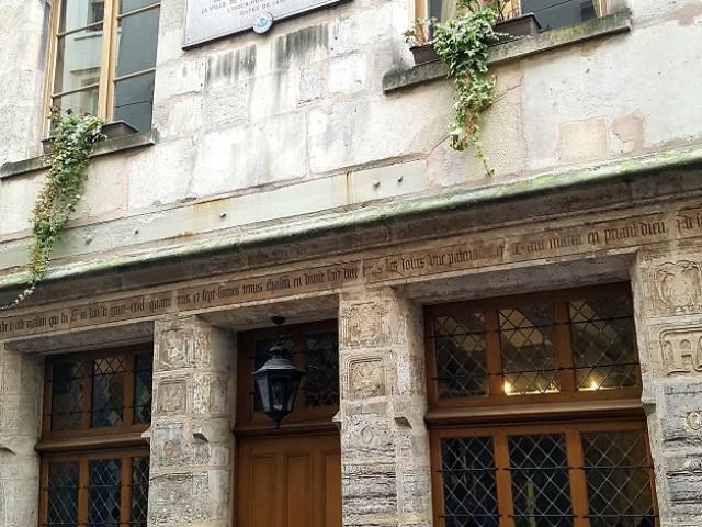 Maison convertie en hospice par Nicolas Flamel