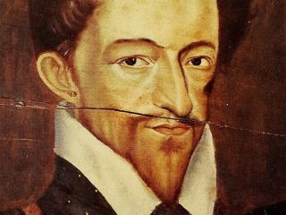 """Duc de Guise, détail de la peinture anonyme """"Les trois Guise"""", vers 1585-1589"""