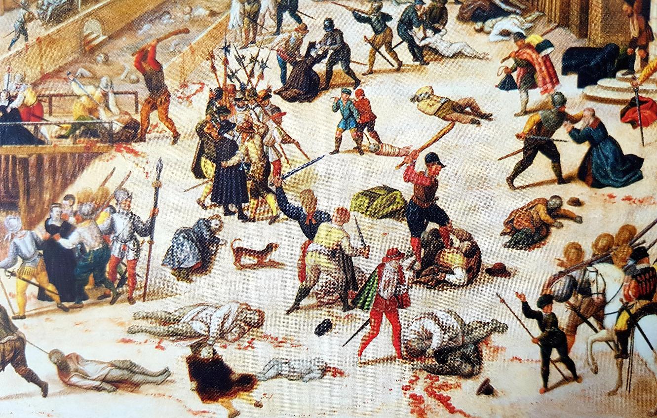 François Dubois, Le massacre de la Saint-Barthélémy, vers 1572-1584 (détail)