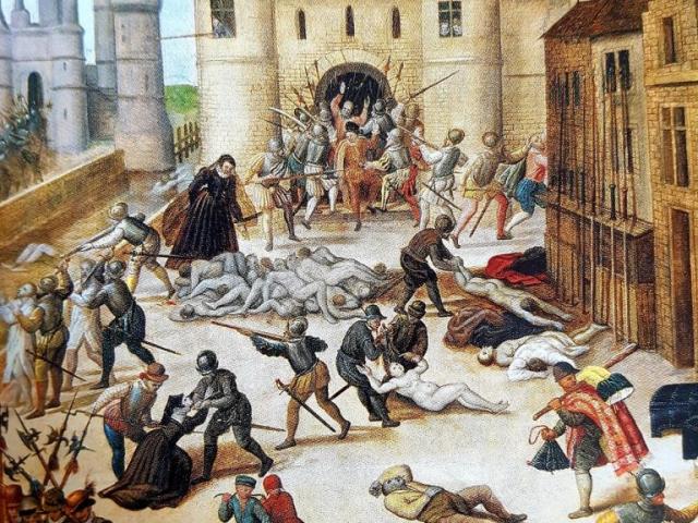 François Dubois, Le massacre de la Saint-Barthélemy, vers 1572-1584 (détail)