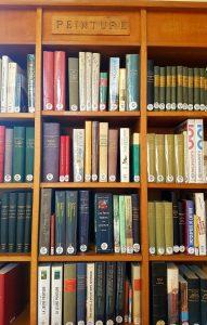"""Section """"Peinture"""" dans la bibliothèque Forney"""