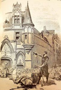 L'exécution de Vermond devant l'hôtel de Sens