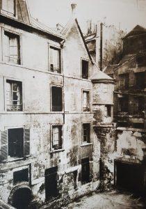 L'hôtel de Sens en 1912