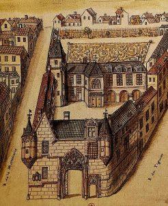 Hôtel de Sens au XVIII siècle