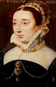 Diane de France, duchesse d'Angoulême, portrait attribué à François Clouet, 1568
