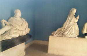 Statues funéraires de Diane de France et de Charles d'Angoulême
