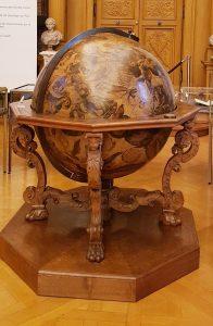 Globe terrestre de la bibliothèque Mazarine