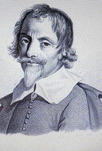 Gabriel Naudé (1600-1653), bibliothécaire infatigable (estampe du XIX siècle)