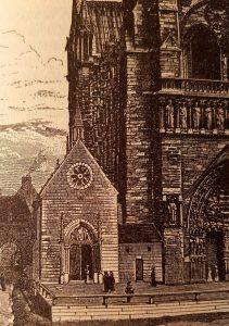 Façade de l'église Saint-Jean-le-Rond