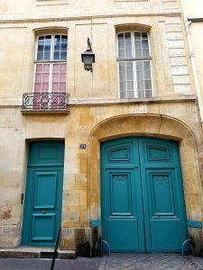 La maison de la rue Michel-le-Comte dans le Marais