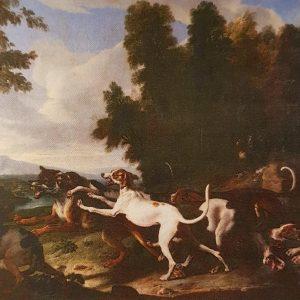 François Desportes, Chasse au loup, 1702
