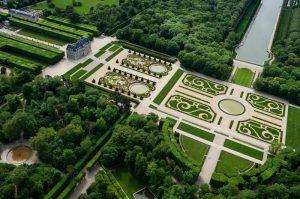 Parc de Sceaux, vue du ciel