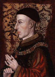 Henri V d'Angleterre / artiste anonyme, fin du XV s.-début du XVI s.