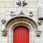 Porte gothique de l'Hôtel de Sens